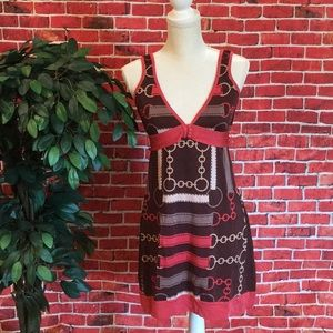 BEBE SIGNATURE print dress size M